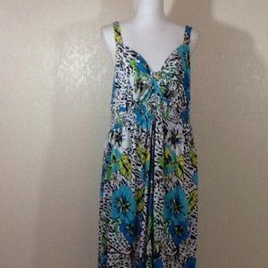 Dresses & Skirts - Cacique maxi sundress size 18/20
